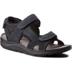 Sandały LASOCKI FOR MEN - MI18-877B Granatowy. Niebieskie sandały męskie skórzane marki Lasocki For Men. Za 119,99 zł.