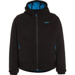 CMP BOY JACKET FIX HOOD Kurtka z polaru nero/river. Czarne kurtki dziewczęce sportowe marki CMP, z bawełny. W wyprzedaży za 127,20 zł.