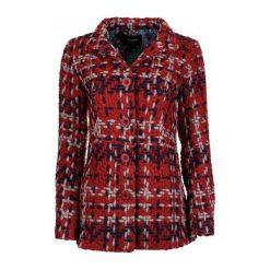 Płaszcze damskie pastelowe: Desigual Płaszcz Damski 36 Czerwony