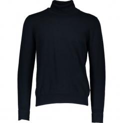"""Sweter """"The Finge Gauge"""" w kolorze granatowym. Niebieskie golfy męskie marki Ben Sherman, m, z bawełny. W wyprzedaży za 173,95 zł."""