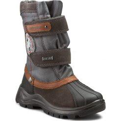 Buty zimowe chłopięce: Śniegowce NATURINO – 0013501134.02.9103 Nero/Antracite