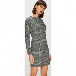 Trendyol - Sukienka. Szare długie sukienki marki Trendyol, na co dzień, z elastanu, casualowe, dopasowane. Za 89,90 zł.