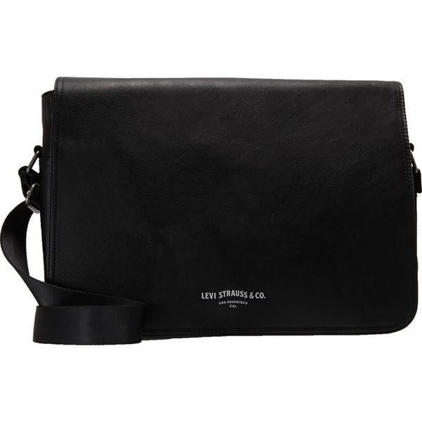 c90b730be2ea8 Levi's® PU MESSENGER Torba na ramię regular black - Czarne torebki ...