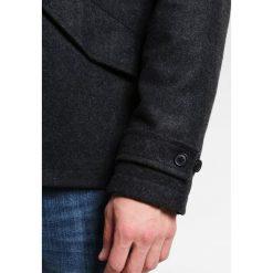 Pier One SHORT HOODED Kurtka przejściowa mottled grey. Szare kurtki męskie przejściowe marki Pier One, m, z materiału. Za 459,00 zł.