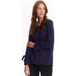 Swetry klasyczne damskie: SWETER DŁUGI RĘKAW DAMSKI, CIENKI Z ROZSZERZANYMI RĘKAWAMI