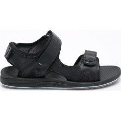 New Balance - Sandały Recharge. Czarne sandały męskie skórzane New Balance. W wyprzedaży za 149,90 zł.