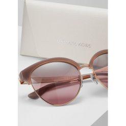 Michael Kors AMALFI Okulary przeciwsłoneczne blush/silver flash. Czerwone okulary przeciwsłoneczne damskie aviatory Michael Kors. Za 779,00 zł.