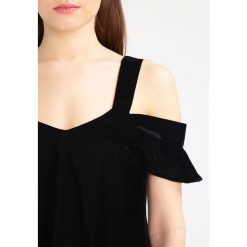 Bluzki asymetryczne: Topshop Petite POLLY  Bluzka black