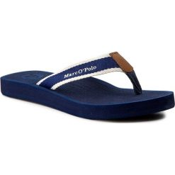 Chodaki damskie: Japonki MARC O'POLO - 703 14031001 611 Dark Blue 880