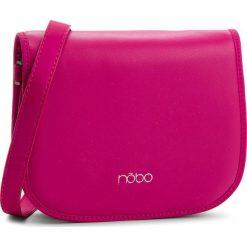 Torebka NOBO - NBAG-F1112-C004 Różowy. Czerwone listonoszki damskie Nobo, ze skóry ekologicznej, na ramię. W wyprzedaży za 109,00 zł.