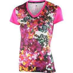 Bluzki damskie: koszulka do biegania damska ADIDAS RESPONSE GRAPHIC TEE / AI3310