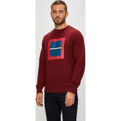 Calvin Klein - Bluza. Brązowe bluzy męskie rozpinane marki Calvin Klein, l, z nadrukiem, z bawełny, bez kaptura. Za 399,90 zł.