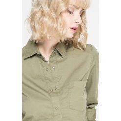 Femi Pleasure - Koszula Karmen. Szare koszule damskie marki Femi Stories, m, z bawełny, casualowe, z klasycznym kołnierzykiem, z długim rękawem. W wyprzedaży za 129,90 zł.