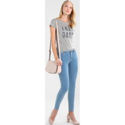 Boyfriendy damskie: Springfield PUSH UP Jeans Skinny Fit blues