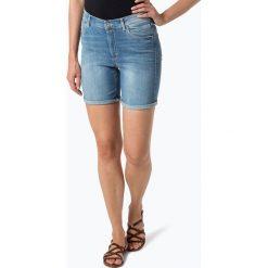 Marc O'Polo - Damskie krótkie spodenki jeansowe, niebieski. Niebieskie bermudy damskie Marc O'Polo, z jeansu. Za 299,95 zł.