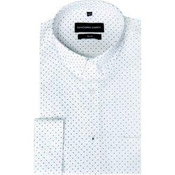 Koszula SIMONE KDBS000221. Czarne koszule męskie na spinki marki TOM TAILOR DENIM, l, z bawełny, button down, z długim rękawem. Za 199,00 zł.