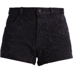 Bermudy damskie: Morgan Szorty jeansowe noir
