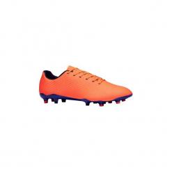 Buty do piłki nożnej CLR900 FG korki. Czarne buty skate męskie marki KIPSTA, m, z elastanu, z długim rękawem, na fitness i siłownię. Za 199,99 zł.
