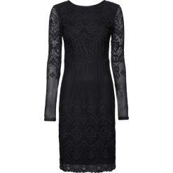 Sukienka koronkowa bonprix czarny. Czarne sukienki koronkowe marki bonprix. Za 109,99 zł.