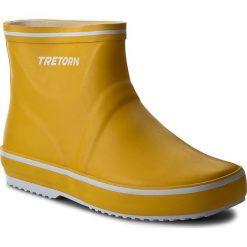 Kalosze TRETORN - Storm Low 473299 Yellow 70. Żółte buty zimowe damskie Tretorn, z kauczuku. Za 199,00 zł.