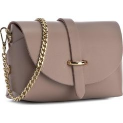 Torebka CREOLE - K10397 Cappucino. Brązowe torebki klasyczne damskie Creole, ze skóry. Za 89,00 zł.
