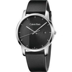 ZEGAREK CALVIN KLEIN CITY K2G2G1C1. Czarne zegarki męskie marki Calvin Klein, szklane. Za 829,00 zł.