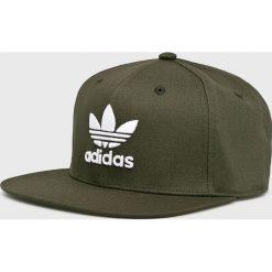 Adidas Originals - Czapka. Szare czapki z daszkiem damskie marki adidas Originals, z bawełny. Za 99,90 zł.