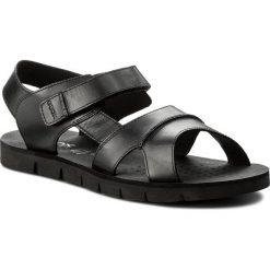 Sandały GEOX - U Glenn E U82V2E 00043 C9999 Black. Czarne sandały męskie skórzane Geox. W wyprzedaży za 259,00 zł.