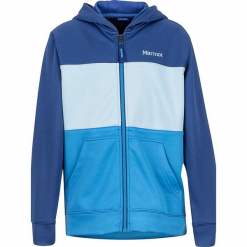 Bluza w kolorze niebieskim. Niebieskie bluzy chłopięce rozpinane marki Marmot Kids. W wyprzedaży za 107,95 zł.
