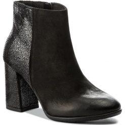 Botki SERGIO BARDI - Crema FW127260117LK 601. Czarne buty zimowe damskie Sergio Bardi, z nubiku. W wyprzedaży za 249,00 zł.