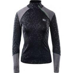 IQ Bluza Sportowa Damska Kaira Wmns Black/Grey Melange r. M. Czarne bluzy sportowe damskie marki DOMYOS, z elastanu. Za 90,56 zł.