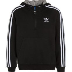 Bejsbolówki męskie: adidas Originals Bluza z kapturem black/medium grey heather/white