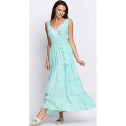 Sukienki: Jasnozielona Sukienka Figured It Out