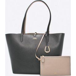 Lauren Ralph Lauren - Torebka. Szare torebki klasyczne damskie marki Lauren Ralph Lauren, z materiału, duże. Za 769,90 zł.