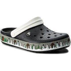 Chodaki damskie: Klapki CROCS - Crocband Holiday Clog 204645 Black