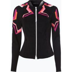 Odzież damska: Marc Cain Sports - Damska bluza rozpinana, niebieski