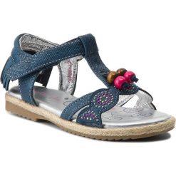 Sandały dziewczęce: Sandały NELLI BLU – CS17002-16 Granatowy