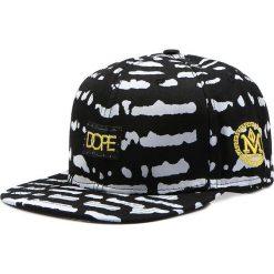 Czapka męska snapback czarna (hx0270). Czarne czapki z daszkiem męskie marki Dstreet, z aplikacjami, eleganckie. Za 69,99 zł.