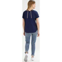 Bogner Fire + Ice KESSY Tshirt z nadrukiem dark blue. Niebieskie t-shirty damskie Bogner Fire + Ice, z nadrukiem, z elastanu. Za 299,00 zł.