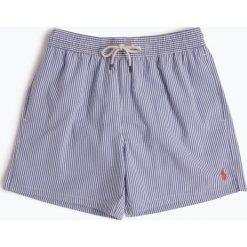Polo Ralph Lauren - Męskie spodenki kąpielowe, niebieski. Niebieskie kąpielówki męskie marki Polo Ralph Lauren, m, w paski. Za 299,95 zł.