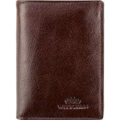 Portfel 21-1-023-44. Brązowe portfele męskie Wittchen. Za 299,00 zł.