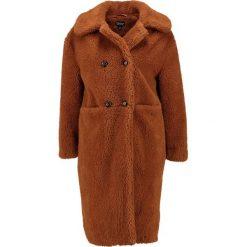 Płaszcze damskie pastelowe: Topshop TEDDY Płaszcz wełniany /Płaszcz klasyczny tobacco