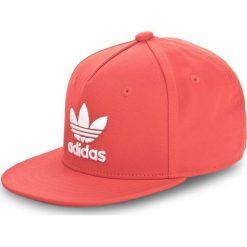 Czapka z daszkiem adidas - Ac Cap Tre Flat CF7487 Corred/White. Czerwone czapki z daszkiem damskie marki Adidas, z bawełny. Za 99,00 zł.