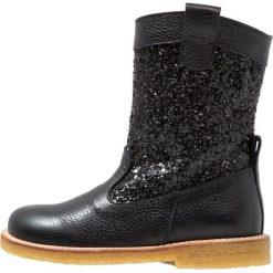 Buty zimowe damskie: ANGULUS BOOT WITH ZIPPER Kowbojki i Buty motocyklowe black/glitter