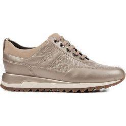 Geox - Buty. Szare buty sportowe damskie Geox, z gumy. Za 539,90 zł.