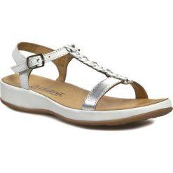 Sandały damskie: Sandały MARINE - Ariane White/Silver