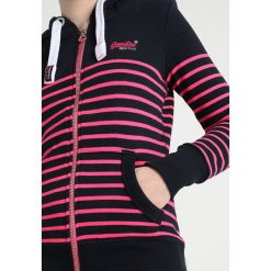 Bluzy damskie: Superdry SUN SEA ZIPHOOD Bluza z kapturem eclipse navy/neon candy