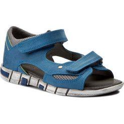 Sandały męskie skórzane: Sandały KORNECKI – 03988 W/Niebie/S