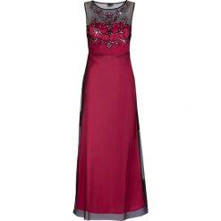 Sukienki hiszpanki: Sukienka wieczorowa bonprix różowo-czarny