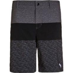 Abercrombie & Fitch CORE  Szorty kąpielowe grey. Szare spodenki chłopięce Abercrombie & Fitch, z elastanu, sportowe. W wyprzedaży za 132,30 zł.